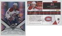 2010-11 Limited Silver Spotlight #104 Scott Gomez Montreal Canadiens Hockey Card
