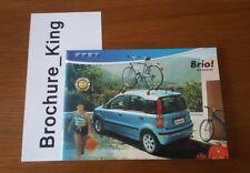 Fiat Full Model Range Accessories Brochure inc Punto Abarth MK1 Stilo Bravo