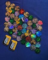 5 PIECE Official POKÉMON Company Coin And Pin Lot Mystery Bundle