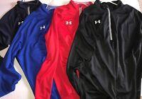 Under Armour UA Men's Team Scout II 1/4 Zip Pullover Top 1236923 Long Sleeve $50
