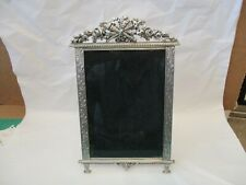 Elias Picture/Photo Frame, #1727, 2001, Pewter w/Silver, 5x7, Usa, Empire Look