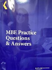 2017 Kaplan Bar Review MBE Practice Questions Answers NEWEST, better than BarBri