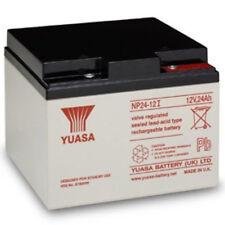 YUASA NP24-12, 12V 24AH (as 26Ah & 28Ah) EMERGENCY LIGHT LIGHTING BATTERY
