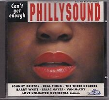 Phillysound-can 't get enough (Polystar, 1993) Love Unlimited orch., Johnny BRIST