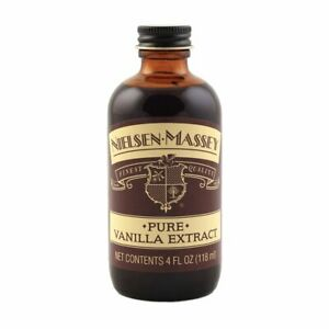 NEW Nielsen-Massey Pure Vanilla Extract 4 oz Finest Quality Exp 02/ 2023