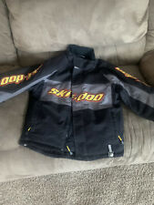 Youth Size 14 Ski-Doo Bombardier Snowmobile Coat Jacket Parka Winter Ski Brp