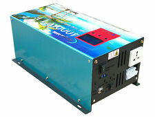NEW 4000W/12000W LF Pure Sine Wave Power Inverter dc12v to ac 240v LCD FROM EU
