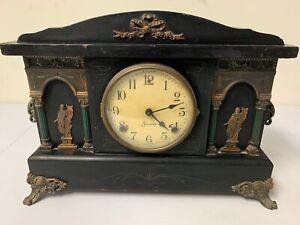SESSIONS Antique Mantle Clock