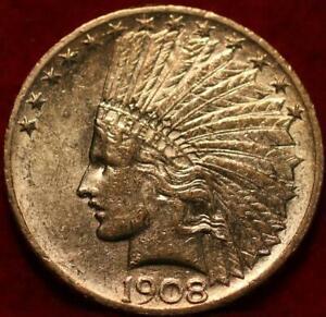 1908 Philadelphia Mint Gold $10