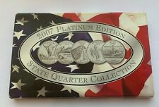 2007 PLATINUM EDITION STATE QUARTER COLLECTION COIN SET