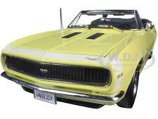 1967 CHEVROLET CAMARO SS 396 CONVERTIBLE YELLOW 1:18 MODEL CAR MAISTO 31684