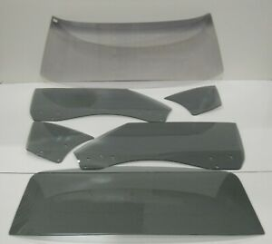 70 71 72 Oldsmobile Cutlass 442 Hardtop Glass Windshield Door Quarter Back Grey