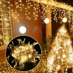 5 Meters Waterproof Outdoor Christmas String Light Icicle Led Curtain Decoration