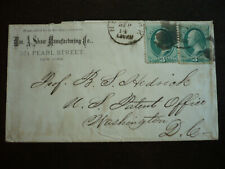 Postal History - USA  -Large Banknote Issue Cover - New York to Washington, DC