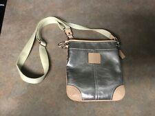 COACH Silver Crossbody Bag Purse (CON24)