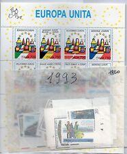 MC 1993 Repubblica Annata completa di  54 valori MNH** ( compresi 1 BF Europa)