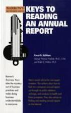 Barron's Business Keys: Keys to Reading an Annual Report by Ralph E. Welton and