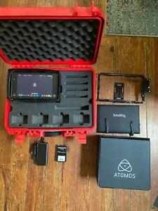 Atomos Ninja Flame 7in 4k HDMI Recording Monitor BUNDLE Smallrig Cage & CASE,