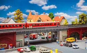 Faller 120581, S-Bahn-Stadtbrücke, neu, OVP, Brücke, Bahnhof, Stahlbrücke