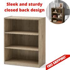 "Mainstays 31"" 3 Shelf Bookcase, Rustic Oak, 31"" 3 Shelf Bookcase"
