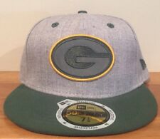 GREEN BAY PACKERS NEW ERA 59FIFTY 3M REFLECTIVE FITTED HAT CAP SZ 7 1 8 18bca1b76