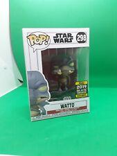 Funko Pop Star Wars  Watto 298 2019 Galactic Celebration Exclusive