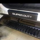 Carbon Fiber Leather Car Door Sill Cover Protector For Ford Super Duty 4 Pcs