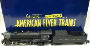 American Flyer 6-48061 S Scale Baltimore & Ohio 4-6-2 Pacific Steam Locomotive