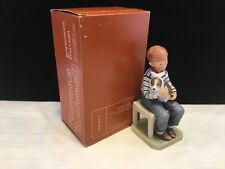 1974 Norman Rockwell Saturday Evening Post AT THE VETS Porcelain Figurine NIB