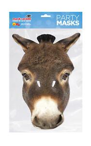 DONKEY ANIMAL FACE MASK Mask-arade