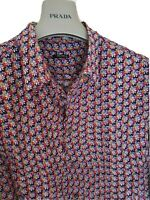 Mens MIU MIU by PRADA floral long sleeve shirt size 41 medium...RRP £395