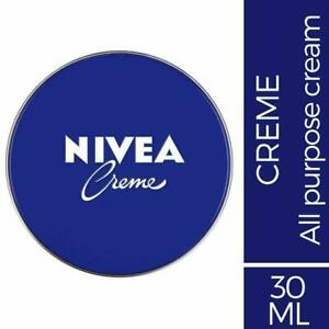 Nivea Creme Face Body & Hands Moisturiser Dry Skin Cream New (30ml)