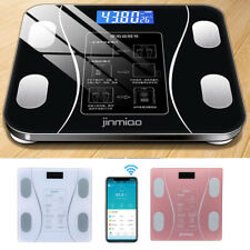 Smart Digital Bathroom Scale Weight Fat Scales Body Fitness BMI Mobile Bluetooth