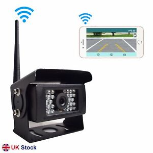 Digital Wireless Rear View Camera for Truck Trailer 100FT Trans iOS Android App