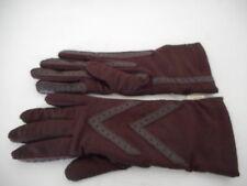 NWT Isotoner Classic Burgundy gloves
