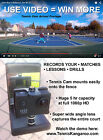 Tennis Cam Fence Mount Video Camera