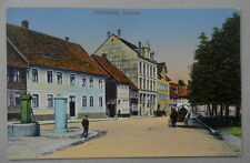 SELTEN MUSTER-AK Hirschfelde Zittau Neuestrasse Strassenansicht Häuser Sachsen