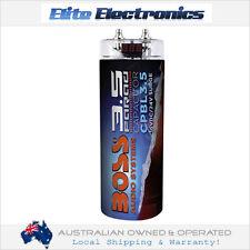 BOSS AUDIO CPBL3.5 BLUE CAPACITOR 3.5 FARAD DIGITAL VOLTAGE METER DISPLAY POWER
