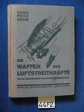 Fritz Hohm DIE WAFFEN DER LUFTSTREITKRAFTE