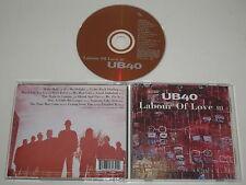 UB40/TRAVAIL OF LOVE III(VIRGIN 7243 8 46469 2 9/DEPCD 18) CD ALBUM