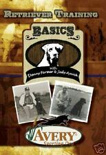 Avery Sporting Dog Retriever Training Basics, DVD!!!