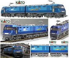 KATO LOCOMOTIVE électrique JR Bleu THUNDER EH200 à double Corps OVP 3045