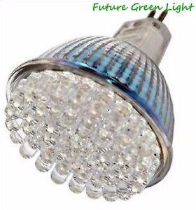 MR16 48 LED 12V 2.4W LOW ENERGY 96LM WARM WHITE BULB ~25W