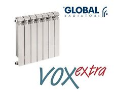 GLOBAL Vox Extra TERMOSIFONE Radiatore Elementi In ALLUMINIO 700 mm 1 Elemento
