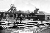 Qid-99 Darfield Main Colliery, Barnsley, Yorkshire c1910's. Photo