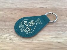 Lotus Keyfob, Key Fob, Leather, Key Ring, Cheshunt