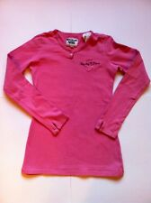 REPLAY & SONS/ DESIGNER T-SHIRT,TOP/ SIZE SMALL, AGE 8 - 10/ PINK COTTON