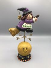 "2000 Midwest of Cannon Falls Eddie Walker ""A Halloween Tour"" Witch Figurine"