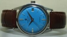 Vintage Favre Leuba Daymatic Swiss Made Wrist Watch s85 Old Used Antique