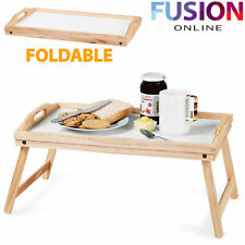 Breakfast Lap Tray Serving Desk Laptop Table Sofa Notebook Bed Portable Folding